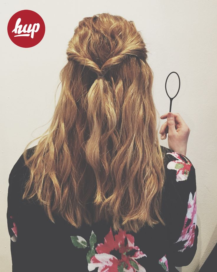 simple #hup hairstyle