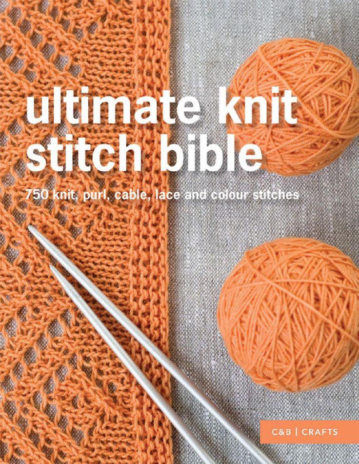 Ultimate Knit Stitch Bible - 轻描淡写的日志 - 网易博客