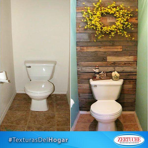 Agrega papel tapiz a las paredes de tu ba o y le dar una apariencia completamente diferente - Papel para bano ...