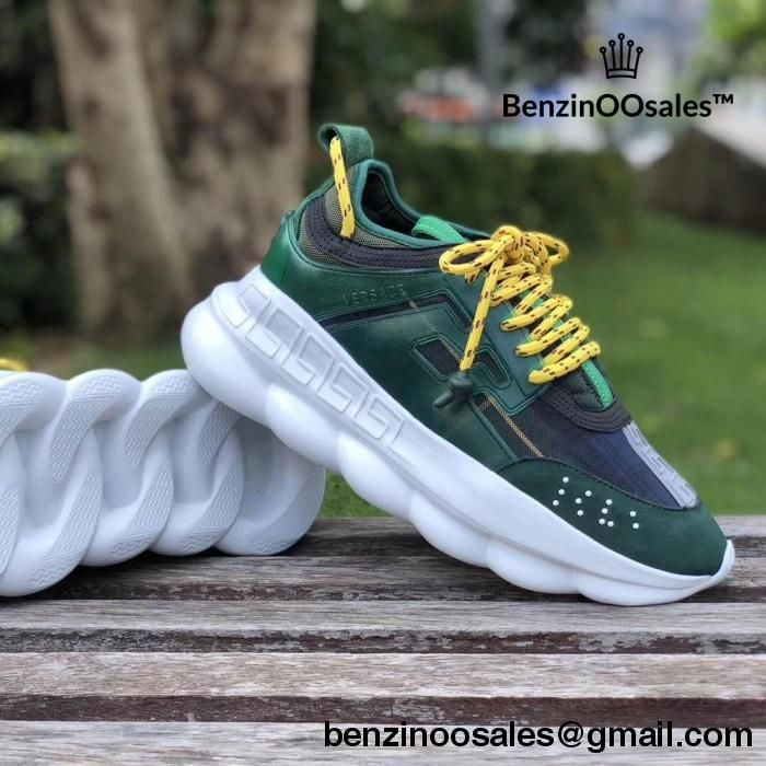 Replica Versace Chain reaction sneakers made with 2 chainz
