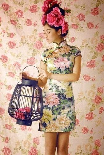 Chinese dress cheongsam