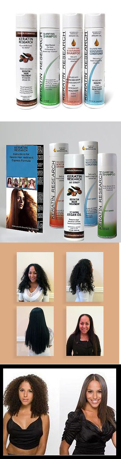Relaxers and Straightening Prod: Complete Brazilian Blowout Keratin Hair Treatment Large Set 300Ml Made Usa BUY IT NOW ONLY: $77.0