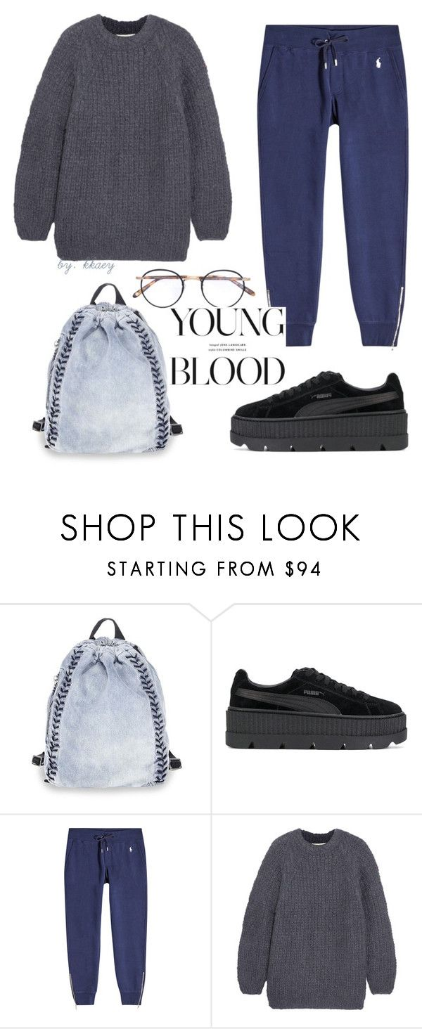 """#PolyPresents: Wish List #12"" by kkaey ❤ liked on Polyvore featuring 3.1 Phillip Lim, Puma, Polo Ralph Lauren, Mes Demoiselles..., Garrett Leight, contestentry and polyPresents"