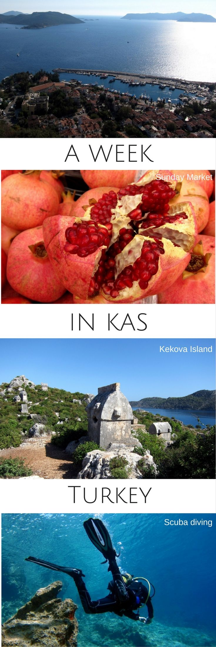 A week in Kas in Turkey - Dive with History - Amphorae Fields of Kas - Scuba diving Turkey - World Adventure Divers - Read more on https://worldadventuredivers.com/2012/10/30/dive-history-amphorae-kas-turkey/