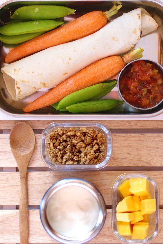 Week of Vegetarian Lunch Box Ideas Packed by Kids