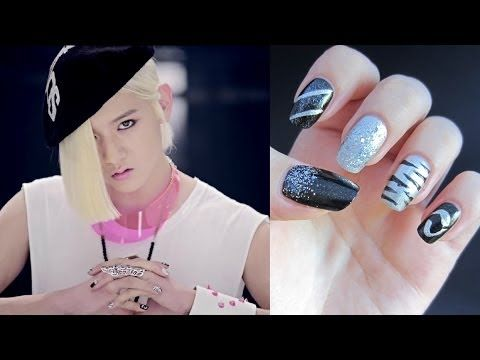 NU'EST Ren's Action Inspired Nails - YouTube