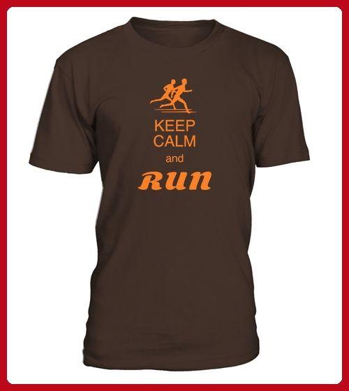 LIMITIERTKeep calm and run Mann - Läufer shirts (*Partner-Link)