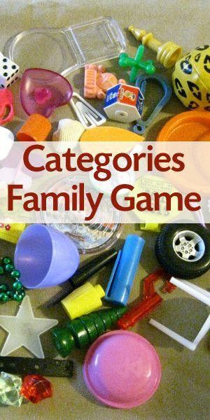 The Categories Game For Families And Kids  Diy Crafts