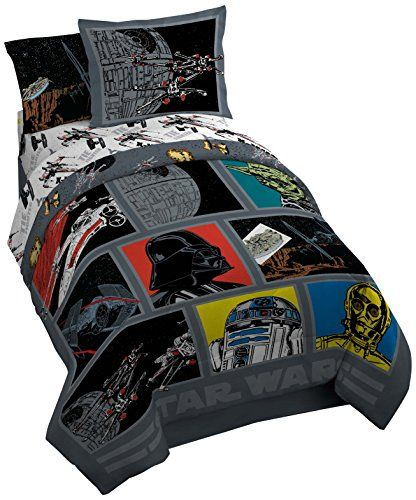 Lucas Film Star Wars Classic Death Star Comforter with Sham, Twin/Full | shopswell