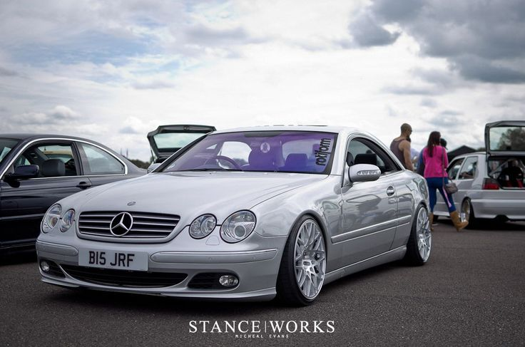 Mercedes-CL500 with Rotiform wheels
