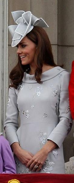 Dress – Erdem Moralioglu    Hat – Jane Corbett    Earrings – Links of London