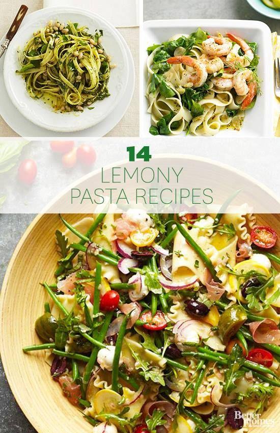 14 Delicious Lemon Pasta recipes