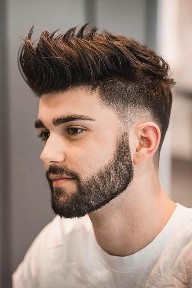 18 Modern And Attention Grabbing Spiky Hair Ideas For Men Mens Hairstyles Short Men Haircut Styles Beard Styles