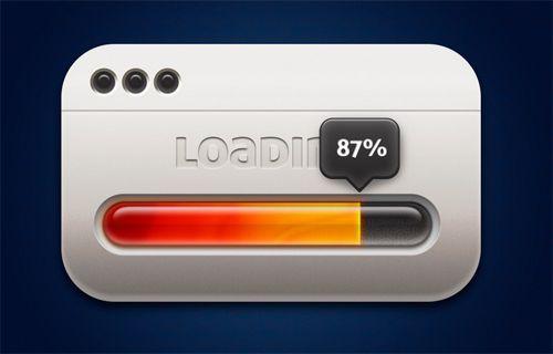 progress bar, thanh tiến trình, web design, web designer, psd, download, sáng…