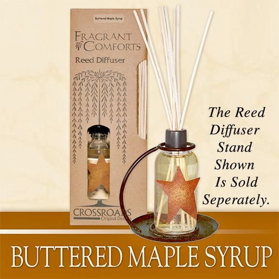 Butter Maple Syrup Reed Diffuser is our number one scent at KP Creek Gifts.