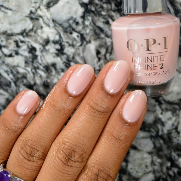 Preen.Me VIP Fatimah A lends this sweet and sophisticated finish to her nails using her gifted OPI Infinite Shine 2 Icons Nail Lacquer in Bubble Bath. Check out your other #InfiniteOptions by clicking through.