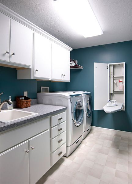 Laundry Room Design Top Loader Paint Colors