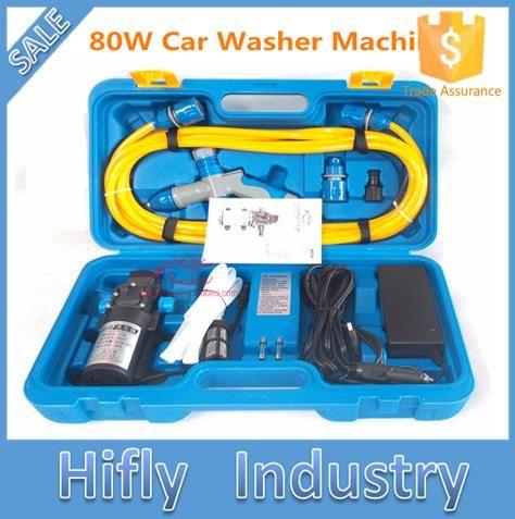 12V 80W 220V High Pressure Car Washing Portable Washing Machine Electric Car Washer (CE ROHS)