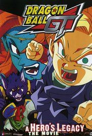 Watch Online Dragon Ball Gt A Hero S Legacy. Goku Jr. is the great-great-grandson of the legendary warrior Goku, but unlike his predecessor he's not a brave fighter. He's constantly picked on by school bullies--his grandmother Pan ...