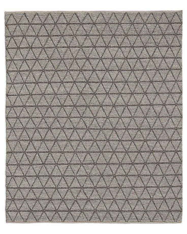Best Triango Wool Rug Grey Charcoal Grey Rugs Rugs Wool Rug 400 x 300