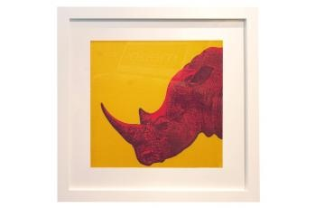 Framed Rhino Print available at meizai