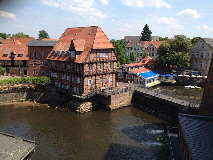Bergström, Lüneburg. Junior Suite, Aussicht