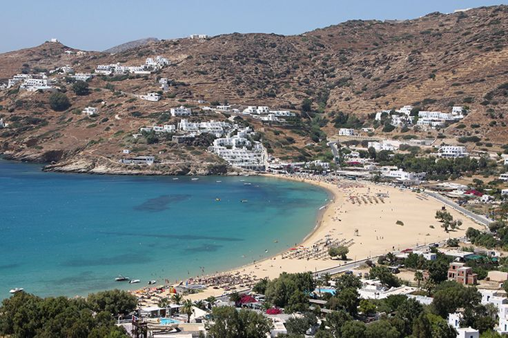 Mylopotas beach in Ios