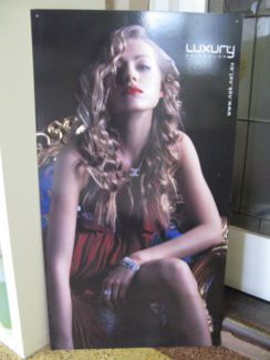 $10.00 HAIR SALON POSTER BOARD 54x99cm  Text 0411691171 or email info@bitspencer.com