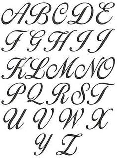 Cursive Letters - Dr. Odd