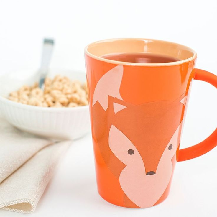 Soyez futés! Notre tasse Renard! #tealover #teaaddict #fox #mug #tasse #renard #the #teataxi