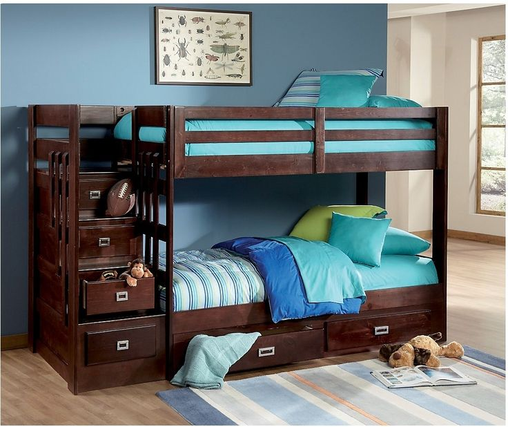Berkeley Staircase Bunk Bed | The Brick