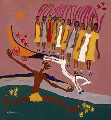 Swing Low, Sweet Chariot by William H. Johnson / American Art