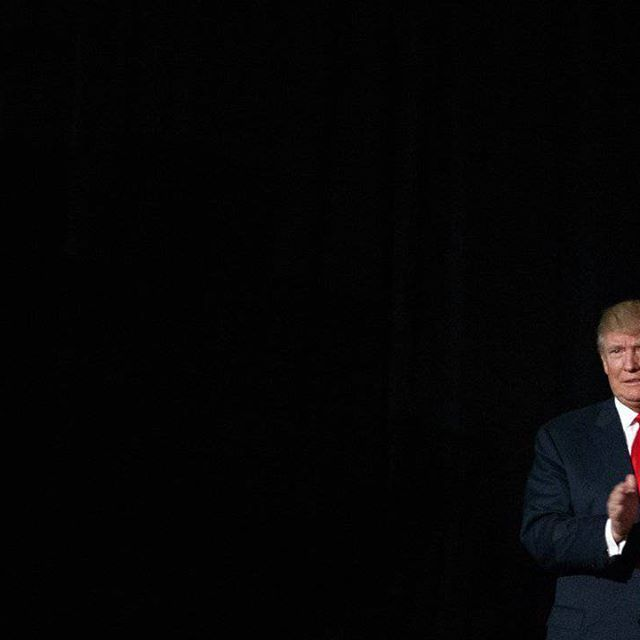 Republican presidential candidate Donald Trump arrives to speak to a campaign rally, Monday, Oct. 31, 2016, in Warren, Mich.  #DonaldTrump #Trump #PresidentTrump #TeamTrump #trumpfamily #Trump2017 #MakeAmericaGreatAgain #Conservative #Republican #Liberal #Democrat #Ccw247 #MAGA #Politics #LiberalLogic