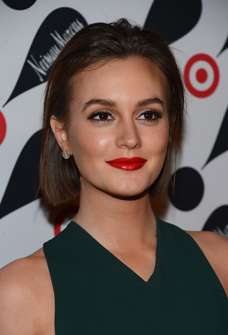81 best make up images on pinterest make up makeup and hairstyles leighton meester shows off the one makeup move we command you to try this holiday season baditri Gallery