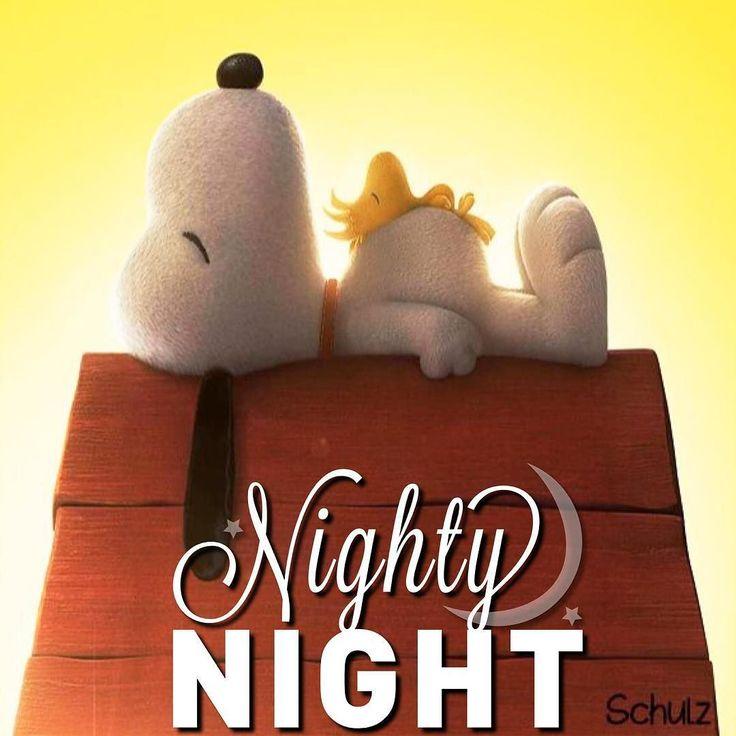 #NightNight   Snoopy love. Nighty night. Snoopy