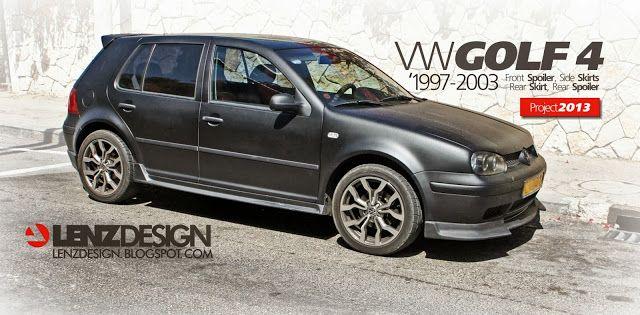 VW Golf 4 Tuning Lenzdesign. שיפורים חיצוניים לרכב - Auto Cars Benz