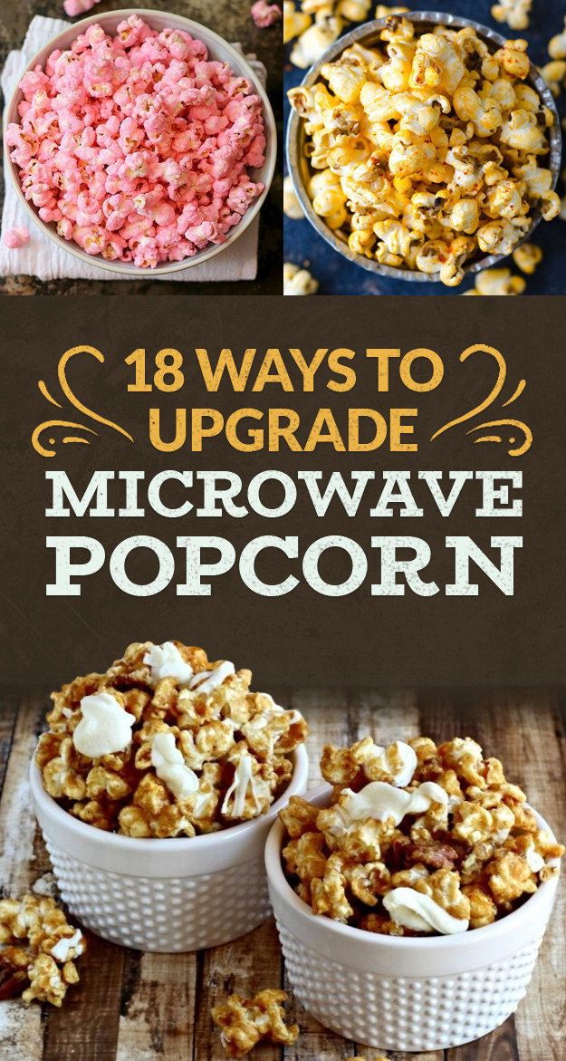 18 Popcorn Recipes For Your Next Netflix Marathon  SO many I need to try out!