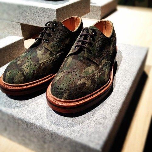Wooster x Leffot Camo BroguesMan Stuff, Shoes Fashion, Camo Brogues, Camo Crazy, Leffot Camo, Men Fashion, Camo Design, Men Shoes, Brogues Shoes