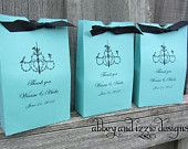 Tiffany Blue Candy Bags Candy Buffet Bags by abbeyandizziedesigns