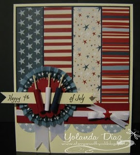 4th July handmade card: Cards 4Th, July Cards, Holiday Cards, Cards Holiday, Stampin, 4Th Of July, Patriotic Cards, Card Ideas, Happy 4Th