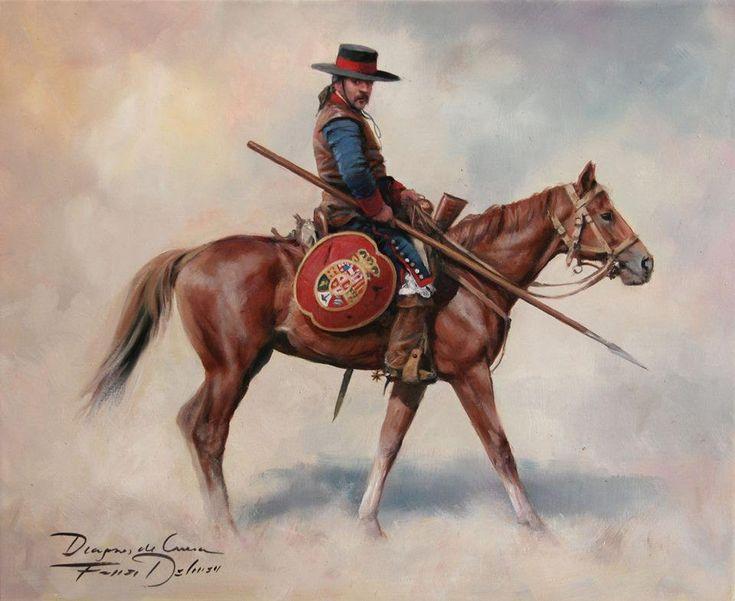 Dragon de cuera, pintura de Ferrer Dalmau                                                                                                                                                                                 Más