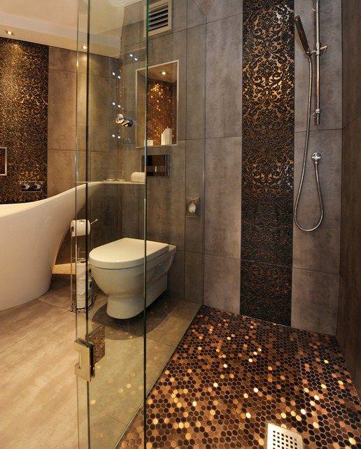 die besten 25 retro badezimmer dekor ideen auf pinterest. Black Bedroom Furniture Sets. Home Design Ideas