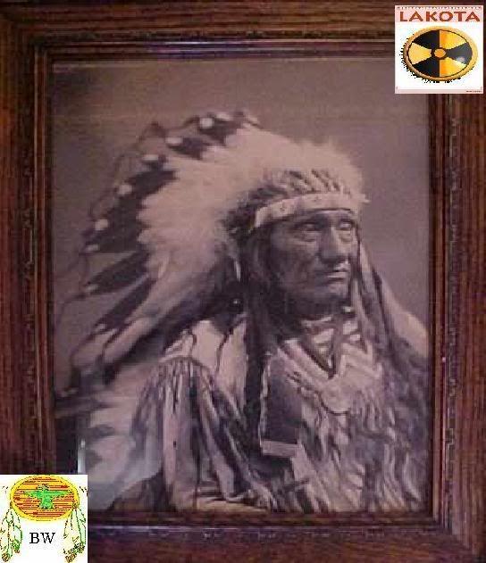 Chief Little Wound, Lakota  1860's-1890's