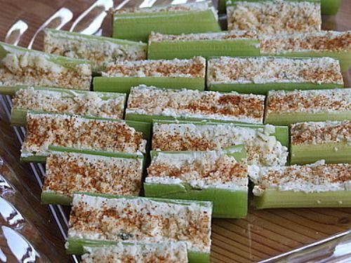 Buffalo Style Celery Sticks from recipegirl.com: Buffalo Celery Sticks, Appetizing Appetizers, Appetizer Recipes, Recipes Appetizers, Styles, Buffalo Style Celery, Celery Appetizer