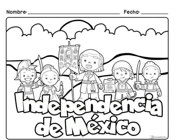 Tu Tarea Portada De La Independecia De Mexico Manualidades 15 De Septiembre Para Ninos Septiembre Preescolar Manualidades 15 De Septiembre Preescolar