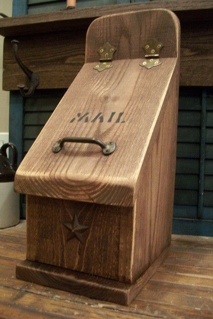 73 Best Wood Mailboxes Images On Pinterest Mail Boxes