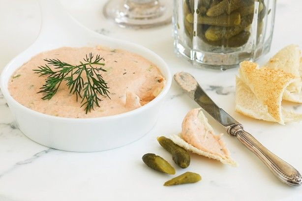 Making pate is not just about chicken livers. This smoky, rich salmon dish is a breeze to make.