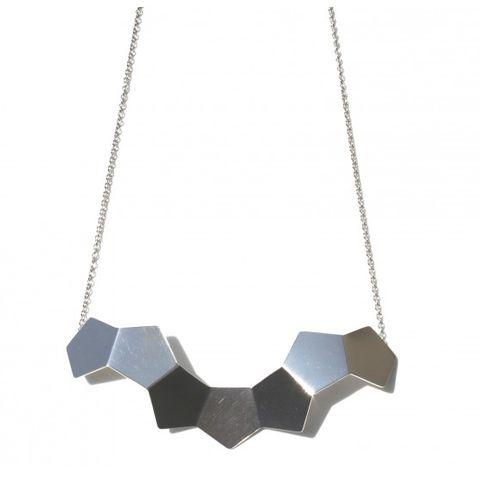 Geom Necklace No1 - Pentagon