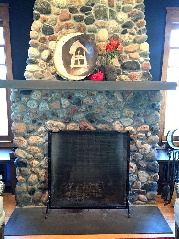 Más de 1000 ideas sobre industrial fireplace screens en pinterest ...