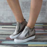 Sneakers dama Valeria aurii • modlet